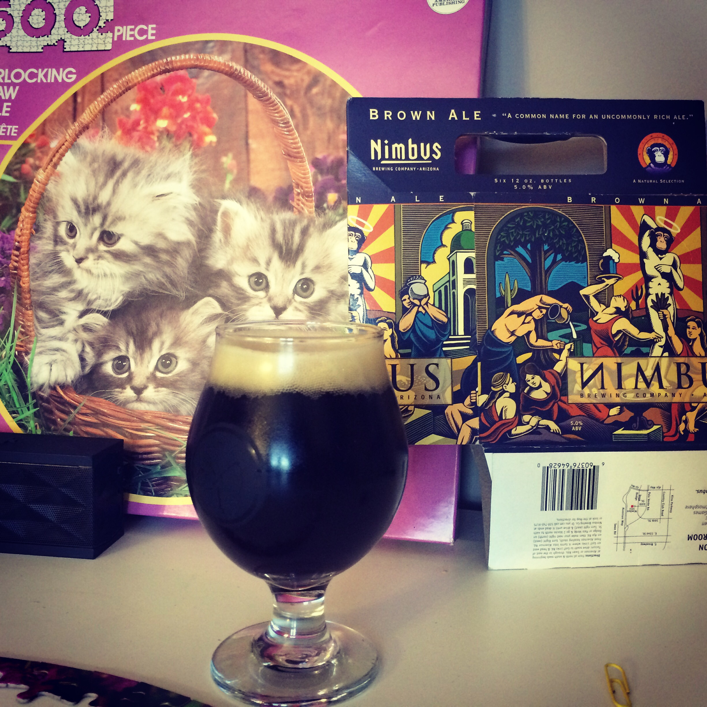 Brown Ale, Pink Puzzles