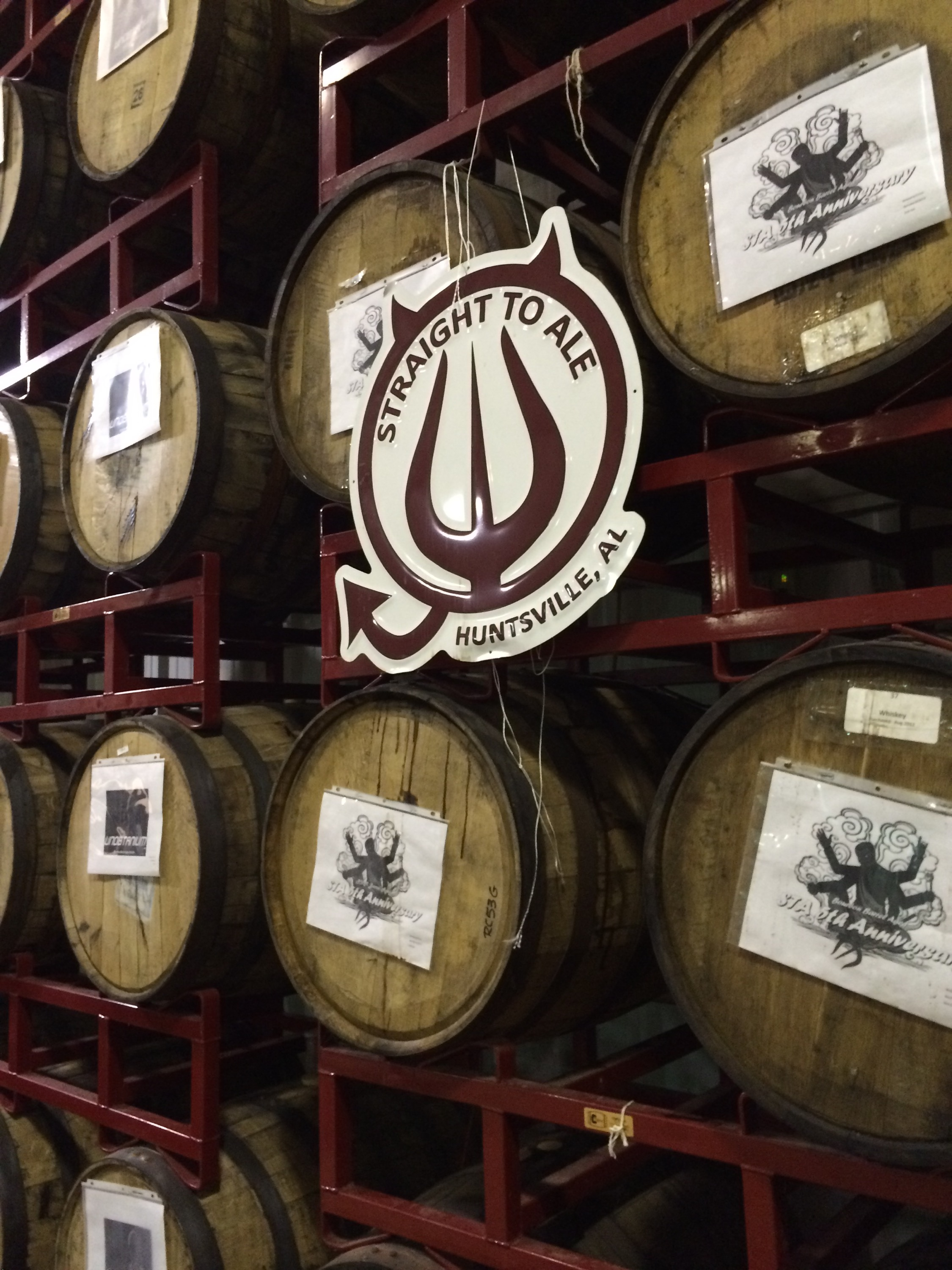 Barrel aged beers at Straight to Ale.