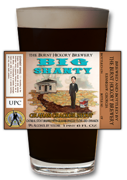 Big Shanty Beer by Burnt Hickory