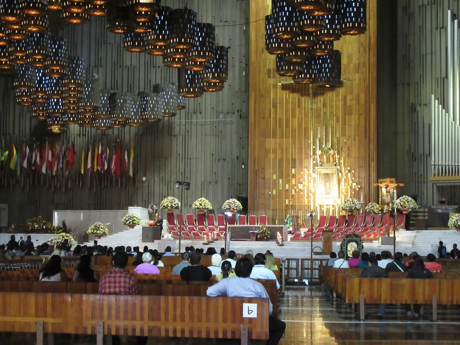 basilica of our lady of guadalupe interior